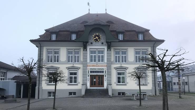 Schulhaus Gemeindehaus Primarschule Hallwil