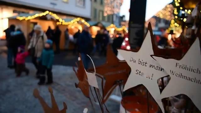 Start Weihnachtsmarkt Altstadt Olten 2017