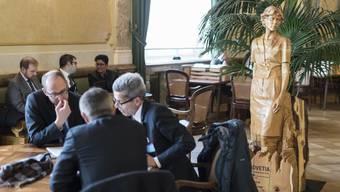Die Wandelhalle im Bundeshaus: Der unbeschränkte Zutritt ist für Lobbyisten ein Privileg.