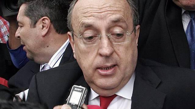 Costa Ricas Ex-Präsident Rafael Calderon