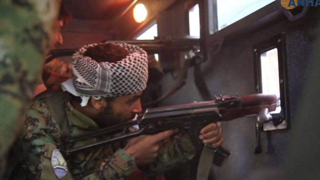 IS-Miliz verliert langen Kampf um ihre Hochburg Rakka