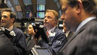 Es geht aufwärts an der New Yorker Börse: Der Dow Jones gewinnt 2,9 Prozent (Archiv)