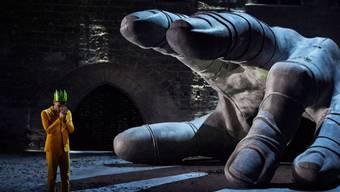 """Senecas """"Thyestes"""" unter der Regie von Thomas Jolly hat am Freitag das Theaterfestival von Avignon eröffnet. (zVg)"""
