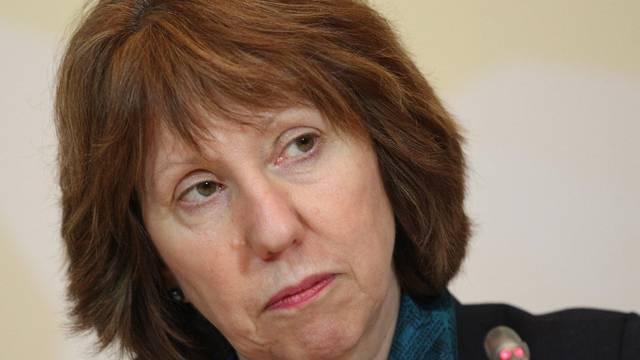 Ashton konnte nach der Verhandlungsrunde in Almaty keinen Durchbruch verkünden
