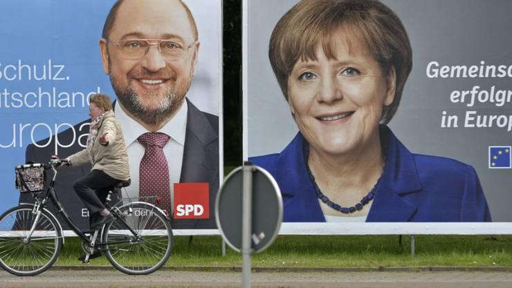 Martin Schulz ist Quereinsteiger in der deutschen Bundespolitik - für die einen ein Vorteil, für andere ein Nachteil im Kampf gegen Angela Merkel um das Kanzleramt. (Archiv)