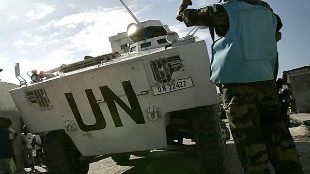 Elf tote UNO-Soldaten bei Flugzeugabsturz auf Haiti