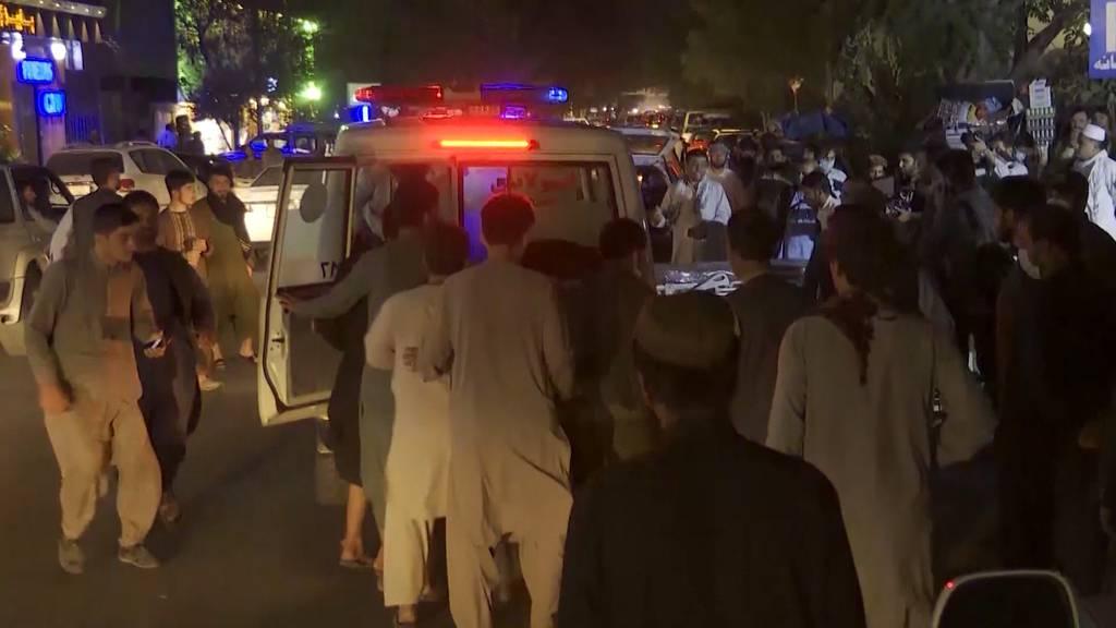 Afghanistan: Über 80 Menschen sterben bei Anschlag in Kabul