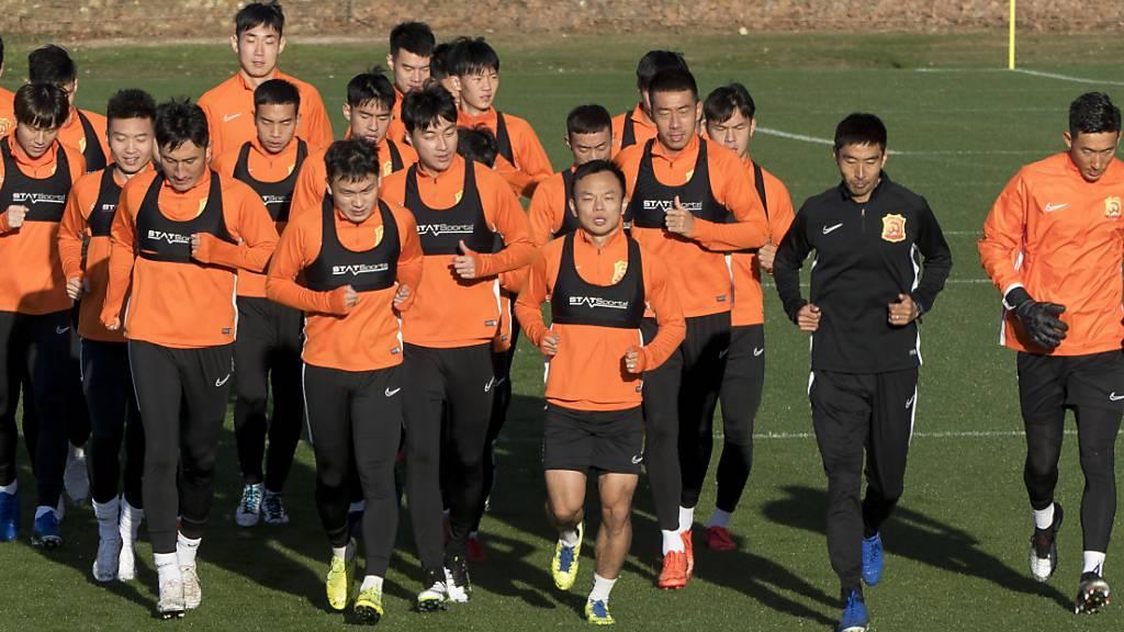 Der FC Wuhan kehrt aus dem Trainingslager nach China zurück