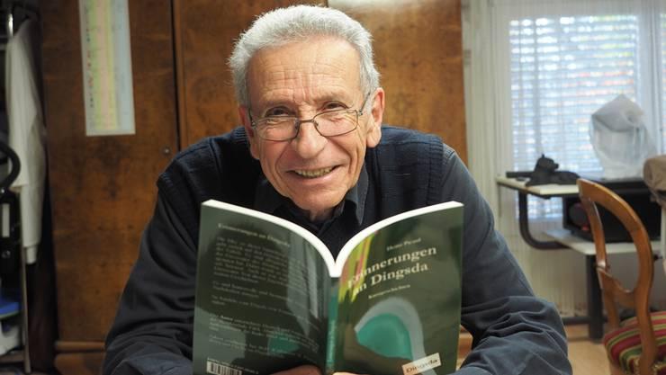 Hat gut lachen: Heinz Picard veröffentlicht mit «Erinnerungen an Dingsda» sein fünftes Buch. Thomas Wehrli