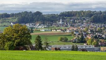 Blick auf die Gemeinde Schneisingen.