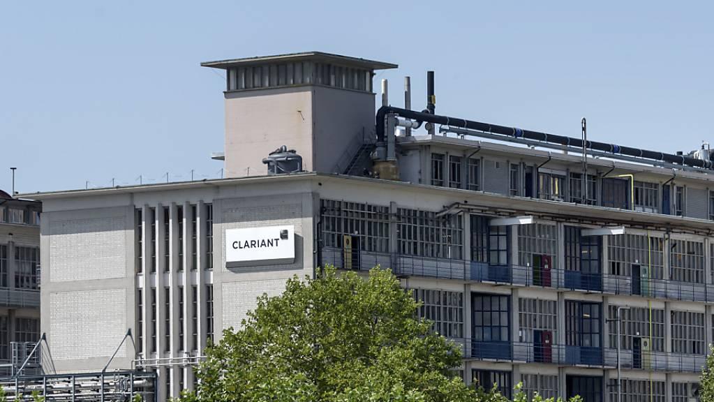 Der Chemiekonzern Clariant hat wegen der Coronakrise einen klaren Nachfragerückgang verspürt. (Archivbild)