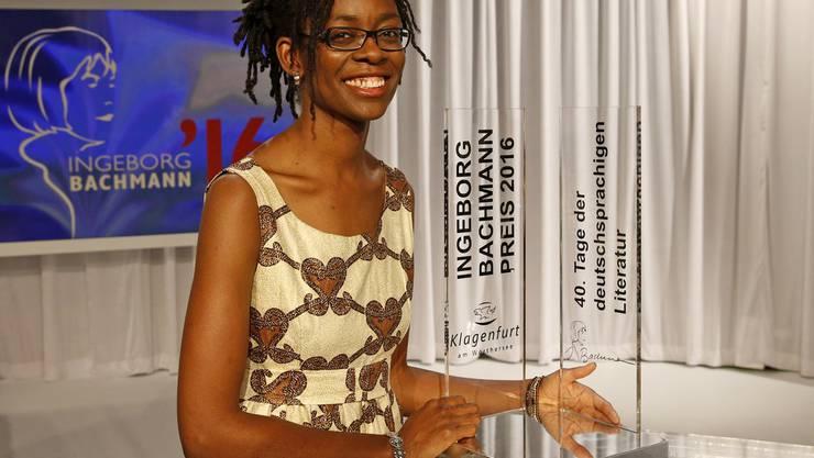 Sie wusste im Vorfeld des Wettlesens nicht, um welch renommierte Auszeichnung sie kämpfen würde: die diesjährige Ingeborg-Bachmann-Preisträgerin Sharon Dodua Otoo.