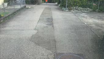 Der Ahornweg erhält neue Wasser- und Abwasserleitungen.