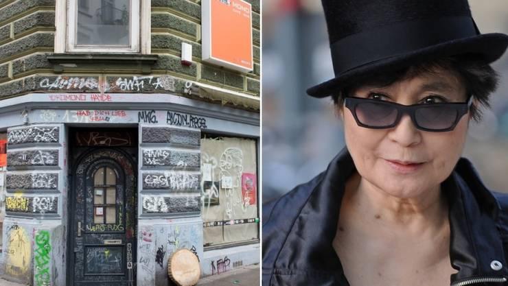Verwechslungsgefahr? Rechts Yoko Ono, links Yoko Mono. (Archivbilder)
