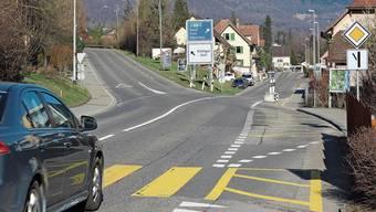 Auch der Einmündungsbereich der Neuen Stockstrasse in Rombach gehört zum Bauperimeter.