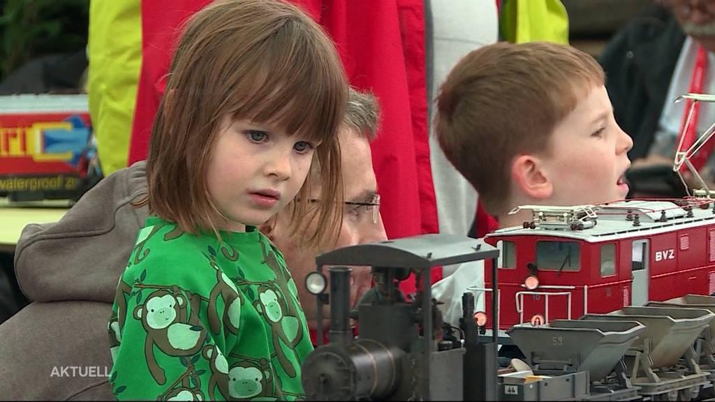 Grossbahnfest: Schinznach im Modellbahn-Fieber