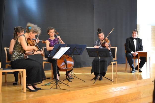 Das Streichquartett «Le donne virtuose».