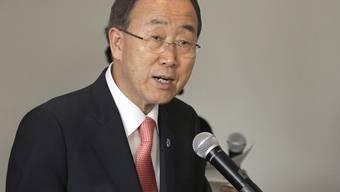 UNO-Generalsekretär Ban Ki Moon will mit Irans Führern sprechen (Archiv)
