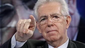 """Am WEF 2013 mit dem Motto """"widerstandsfähige Dynamik"""" soll der krisenerprobte italienische Ministerpräsident Mario Monti die erste grössere Rede halten"""