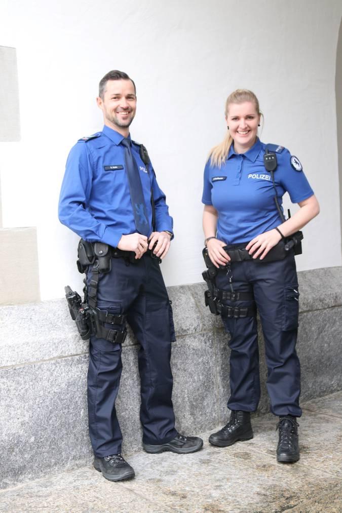 Die neue Uniform der Kantonspolizei Appenzell Innerrhoden