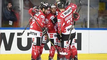 Die Spieler des Team Canada dürfen jubeln - sie stehen direkt im Halbfinal