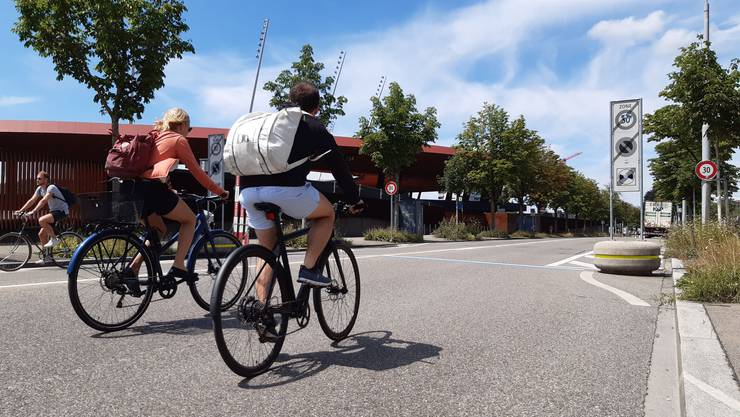 Für die Baslerstrasse publizierte der Zürcher Stadtrat kürzlich geplante Verkehrsänderungen für eine Veloschnellroute.