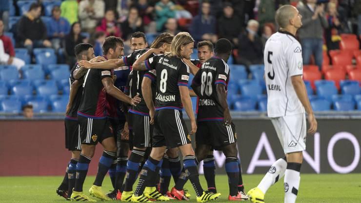 Der FCB konnte sich klar mit 4:0 durchsetzen.