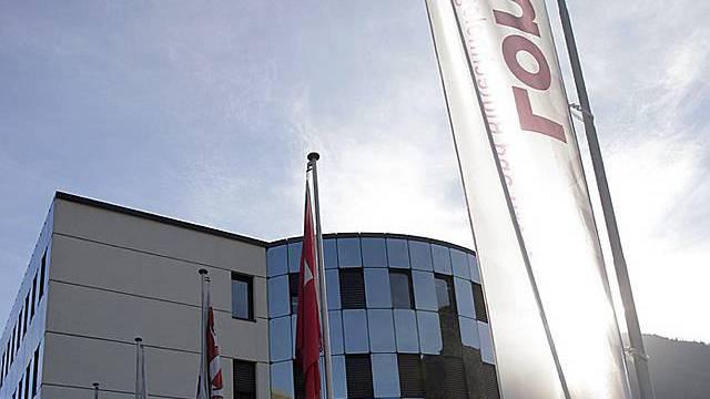 Gebäude der Lonza in Visp