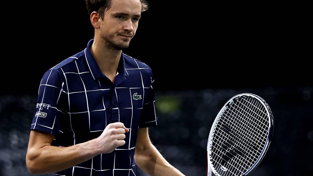 Starker Abschluss nach schwierigen Wochen: Daniil Medwedew triumphiert beim Turnier in Paris-Bercy