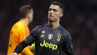 Cristiano Ronaldo hat in der laufenden Champions-League-Kampagne erst ein Tor erzielt.
