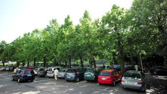 Auch in der Allee wird das Parkieren teurer und zeitlich auf 1,5 Stunden begrenzt.