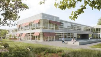 So soll das neue Schulhaus aussehen.
