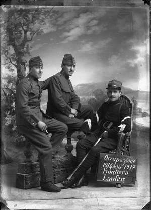 Tessiner Soldaten in Laufen