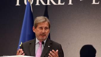Sieht die Türkei weiterhin als Beitrittskandidat: EU-Erweiterungskommissar Johannes Hahn in Ankara.