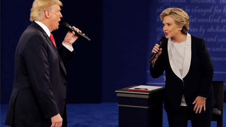 Weder Clinton noch Trump: Die strahlenden Gewinner finden sich ganz wo anders. John Locher/ap