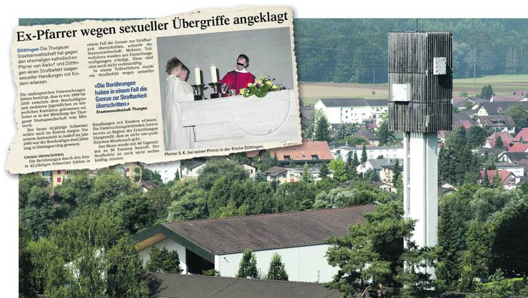 2012 wurde Pfarrer Stefan K. schuldig gesprochen. Vor seinem Amtsantritt in Aadorf im Jahr 2000 war er zwei Jahre lang in Döttingen (Bild) tätig. (Archiv)
