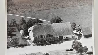 Der Gasthof St. Urs und Viktor in Bettlach heute und vor 175 Jahren