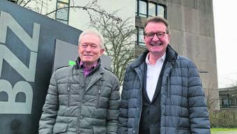 Neue Rollen: Hans-Ruedi Hottiger übernimmt das Präsidium der Berufs- und Weiterbildung Zofingen, Hans-Rudolf Suter wird Vize.