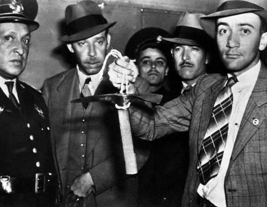 Der Eispickel, mit dem Trotzki umgebracht wurde.