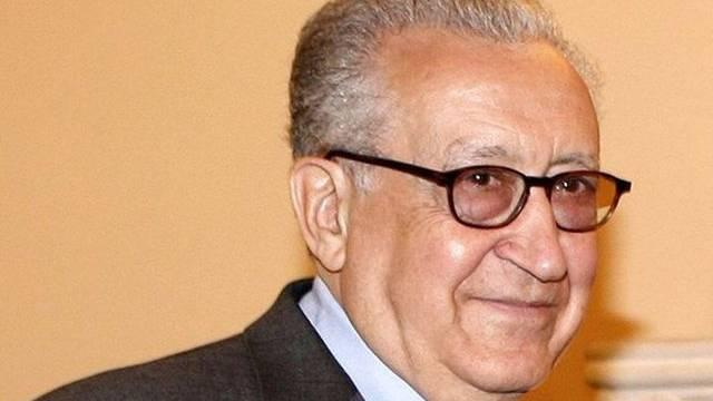 Der neue UNO-Syriengesandte Lakhdar Brahimi (Archiv)