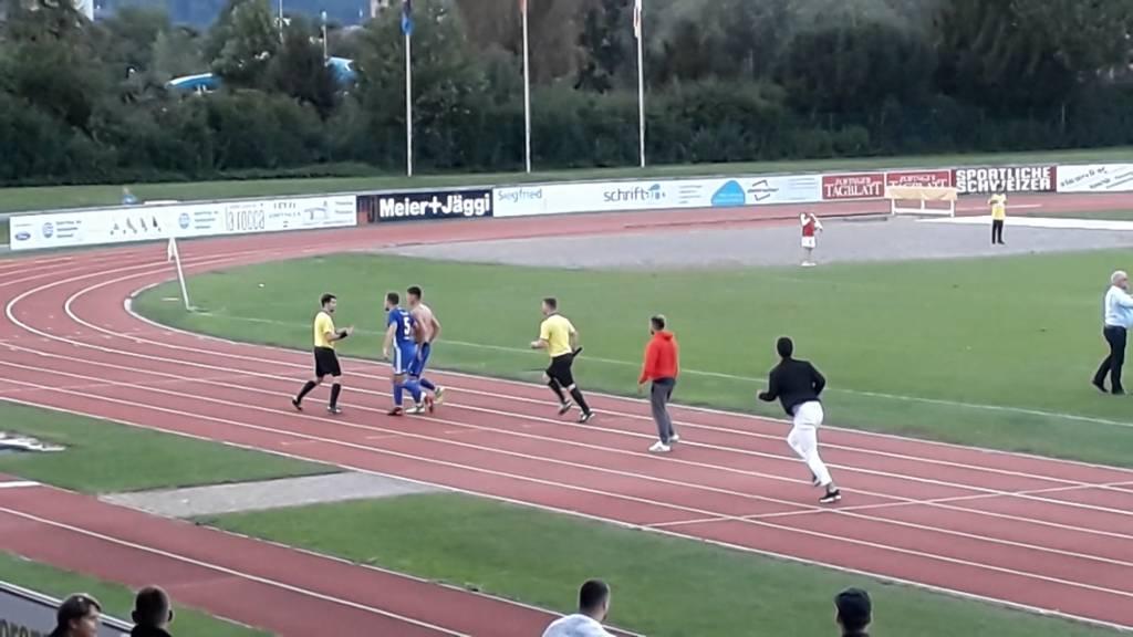 SC Zofingen vs. NK Pajde: Spieler attackieren Schiri
