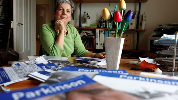 Heidi Grolimund ist Präsidentin der Parkinson-Selbsthilfegruppe Grenchen.  Hanspeter Bärtschi