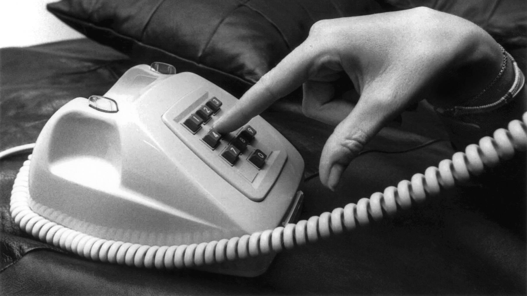 Am Sonntag ist «Tag des Telefons».