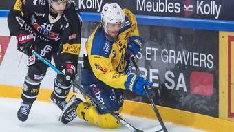 Der HC Davos mit Magnus Nygren beendete in Freiburg seine Negativserie