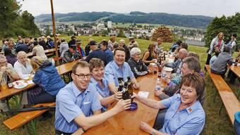 1. August 2015: So haben die Aargauer Gemeinden gefeiert.