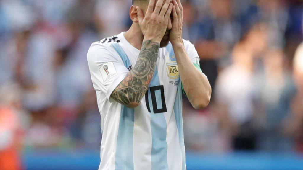 Versteckspiel? Lionel Messi hat seine Zukunft im Nationalteam Argentiniens bisher offen gelassen