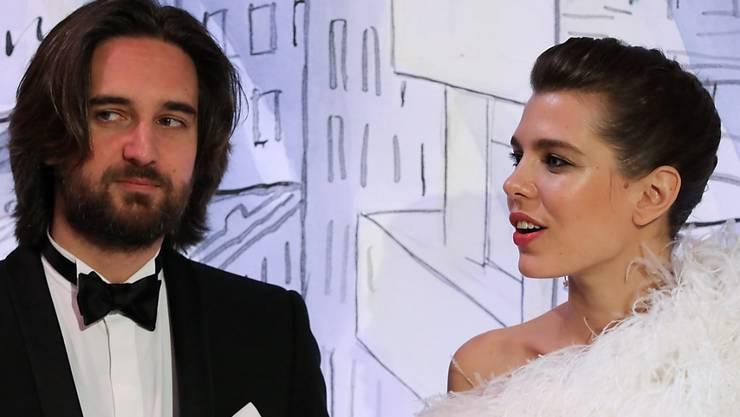 Sie sind seit Dienstag Eltern eines kleinen Buben: Charlotte Casiraghi und Dimitri Rassam. (Archivbild)