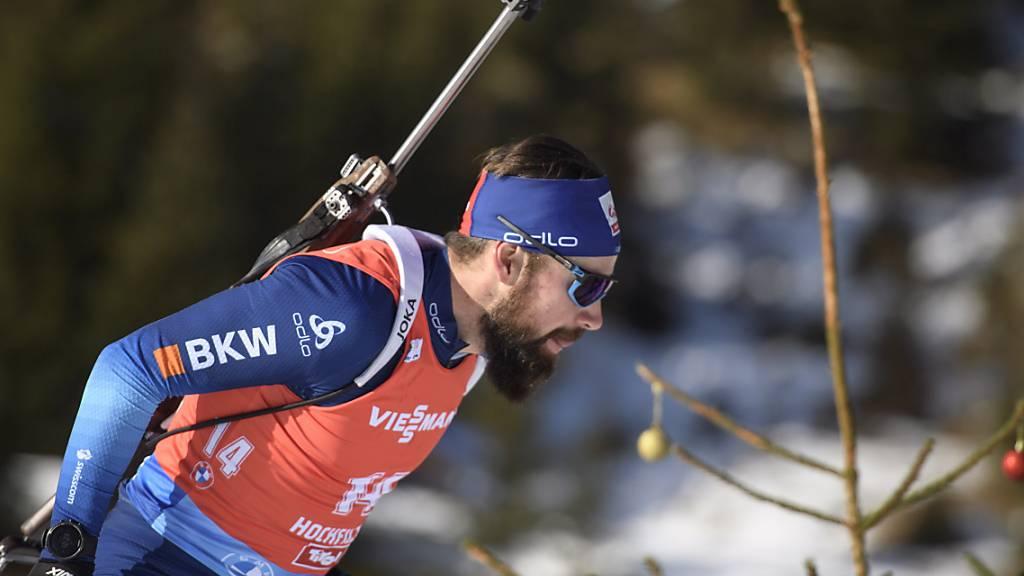 Kein Topresultat: Benjamin Weger kam in Oberhof auf den 24. Platz