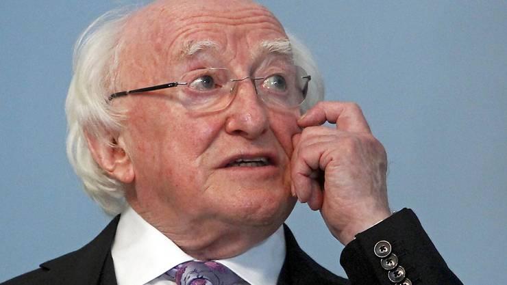 Der 77-jährige Michael D. Higgins ist bei den Präsidentschaftswahlen in Irland erneut als Präsident des Landes gewählt worden. (Archivbild)