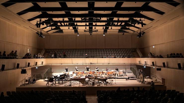 Der neue Saal auf dem Maag Areal unweit des Prime Towers bedeutet für das Orchester auch einen neuen Klang.